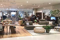百貨店・家具専門店等への卸売、売場提案等の販売サポート