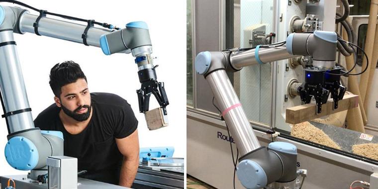 ロボットアーム デモンストレーション