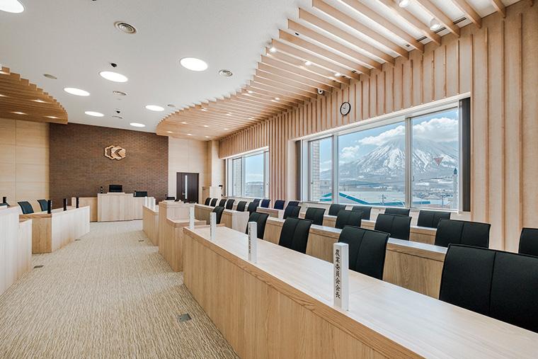 倶知安町役場庁舎(公共施設/北海道)